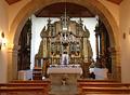 Interior igrexa de San Roque
