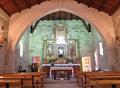 Interior igrexa de San Caetano