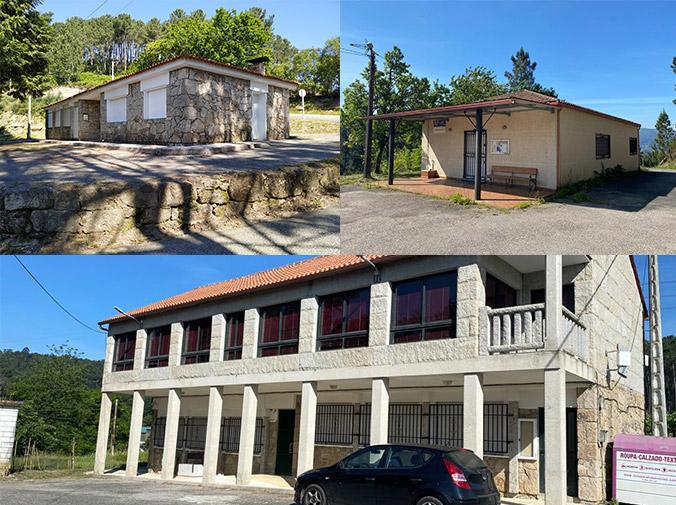 Casas culturales: Vilar, Sendelle e Albeos