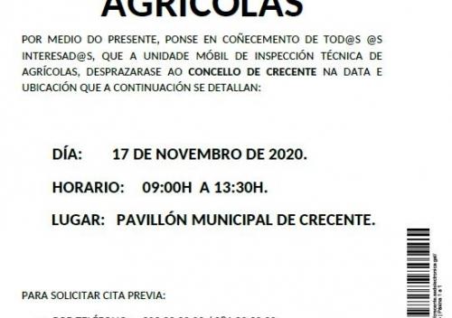 INSPECCIÓN TÉCNICA AGRÍCOLAS